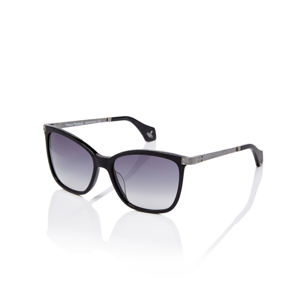 Men Vivienne Westwood BLACK PALLADIUM SUNGLASSES VW880S02 Outlet Online