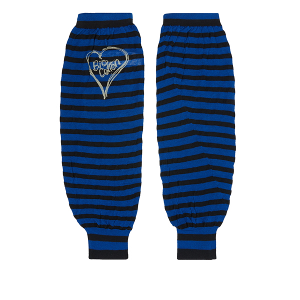 Men Vivienne Westwood ARM WARMERS BLACK/BLUE Outlet Online