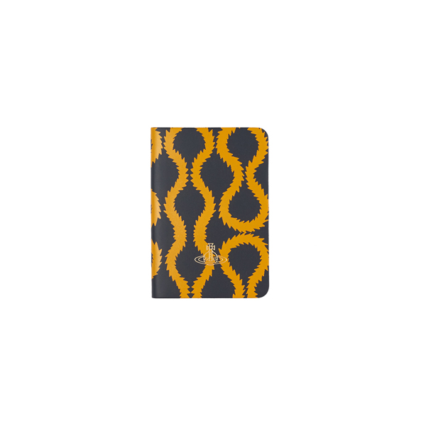Men Vivienne Westwood A6 NAVY SQUIGGLE NOTEBOOK Outlet Online