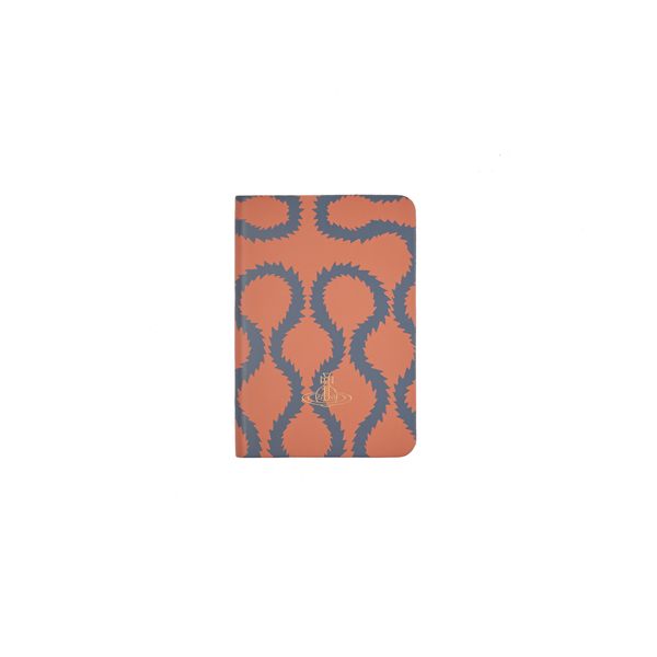 Men Vivienne Westwood A6 CORAL SQUIGGLE NOTEBOOK Outlet Online