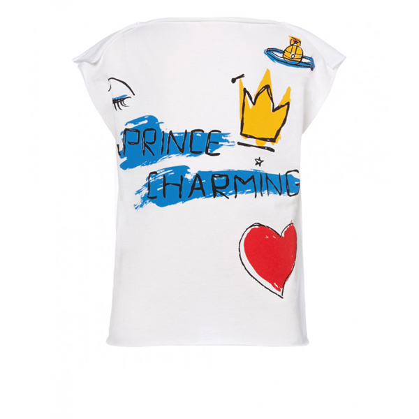 Men Vivienne Westwood CHILDS SQUARE PRINCE CHARMING T-SHIRT Outlet Online