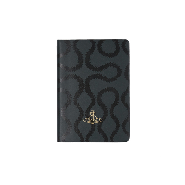 Men Vivienne Westwood A5 JET GREEN SQUIGGLE NOTEBOOK Outlet Online