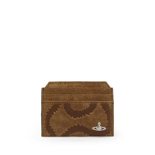 Men Vivienne Westwood NEW BELFAST CREDIT CARD HOLDER 33375 BROWN Outlet Online