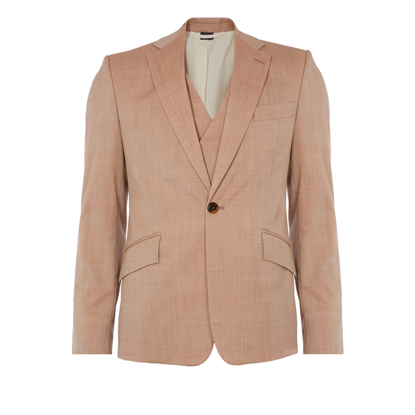 Men Vivienne Westwood WAISTCOAT JACKET ORANGE Outlet Online