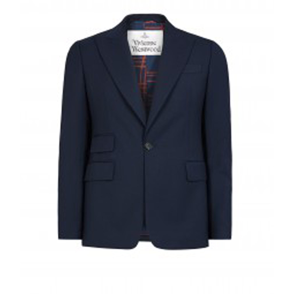 Men Vivienne Westwood CLASSIC JACKET NAVY Outlet Online