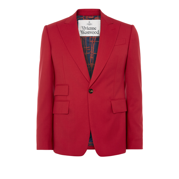 Men Vivienne Westwood CLASSIC JACKET RED Outlet Online