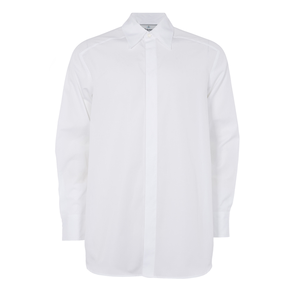 Men Vivienne Westwood STUDIO 54 SHIRT WHITE Outlet Online