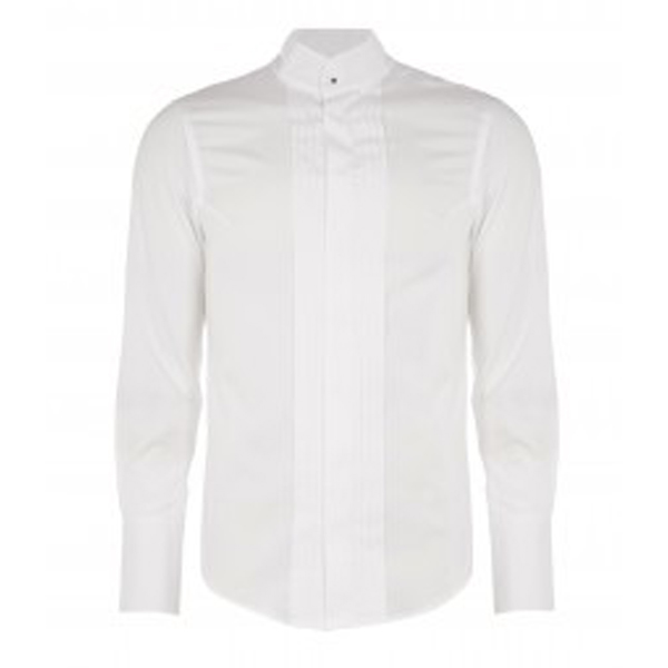 Men Vivienne Westwood WHITE KRALL DRESS SHIRT Outlet Online