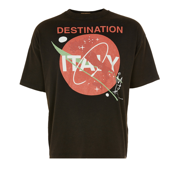 Men Vivienne Westwood ITALY T-SHIRT BLACK Outlet Online