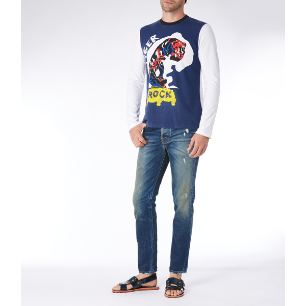 Men Vivienne Westwood CLASSIC T-SHIRT TIGER ROCK Outlet Online
