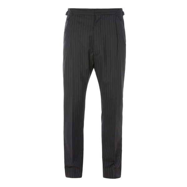Men Vivienne Westwood DRESS TROUSERS GREY PINSTRIPE Outlet Online
