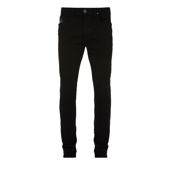Men Vivienne Westwood BLACK DON KARNAGE JEANS Outlet Online