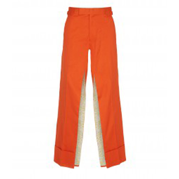 Men Vivienne Westwood BERTRAM TRS SKIRT ORANGE Outlet Online