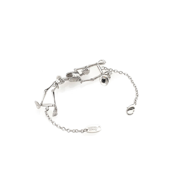 Men Vivienne Westwood SKELETON BRACELET Outlet Online