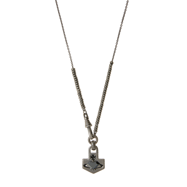Men Vivienne Westwood KIAN ARROW PENDANT Outlet Online
