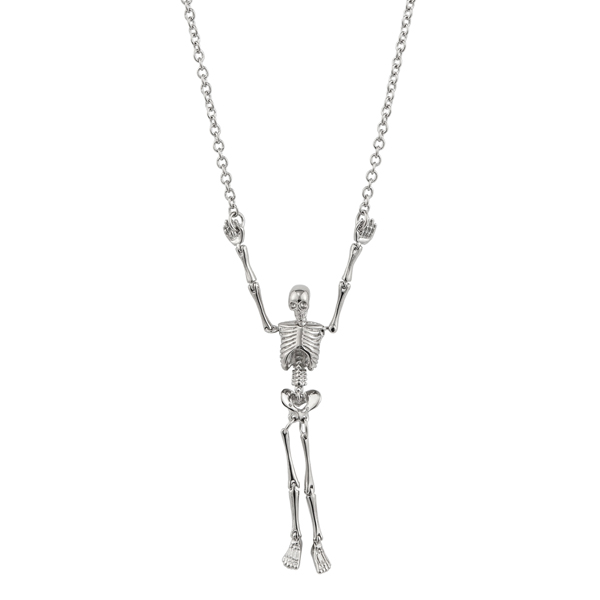Men Vivienne Westwood SKELETON LONG NECKLACE Outlet Online