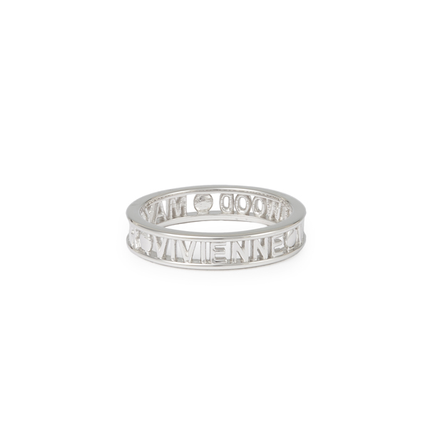 Men Vivienne Westwood STERLING SILVER WESTMINSTER RING Outlet Online