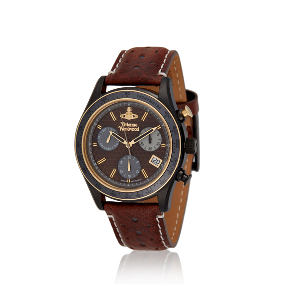 Men Vivienne Westwood BROWN SOTHEBY WATCH Outlet Online