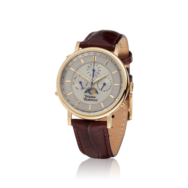 Men Vivienne Westwood BROWN PORTLAND WATCH VV164CHBR Outlet Online