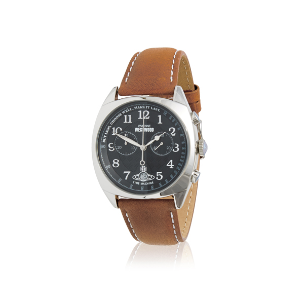 Men Vivienne Westwood HAMPSTEAD WATCH SILVER/BLACK Outlet Online