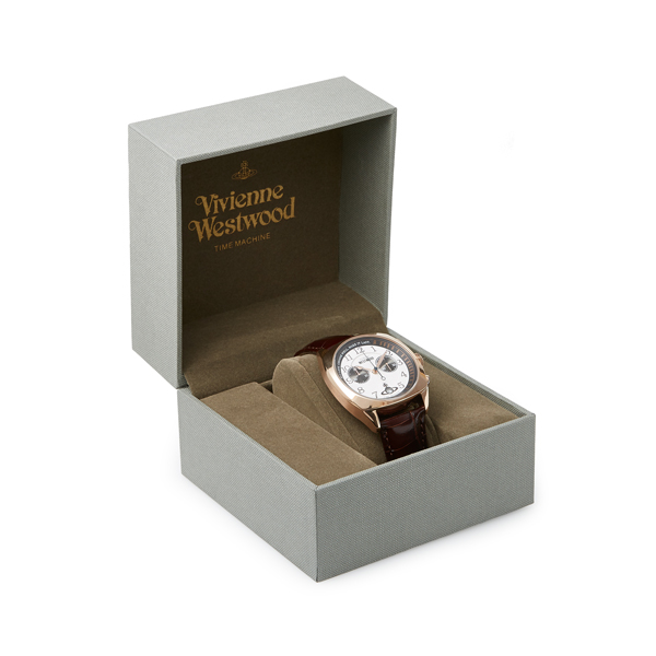 Men Vivienne Westwood HAMPSTEAD WATCH ROSE GOLD Outlet Online