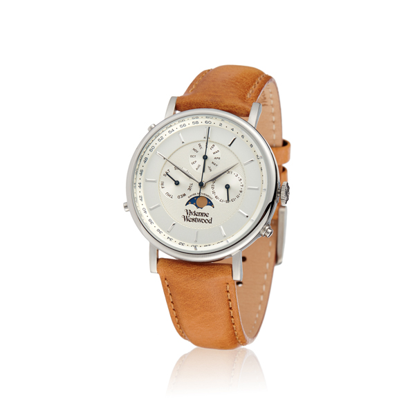 Men Vivienne Westwood TAN PORTLAND WATCH VV164SLTN Outlet Online