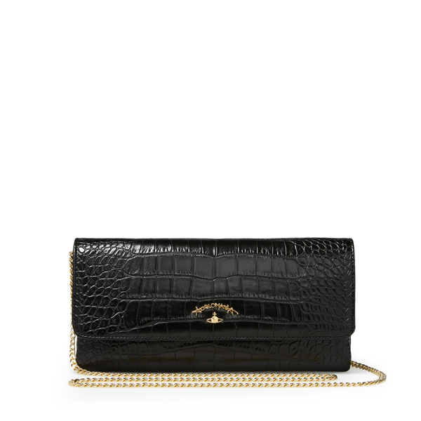 Women Vivienne Westwood SMALL DORSET BAG 6052 BLACK Outlet Online