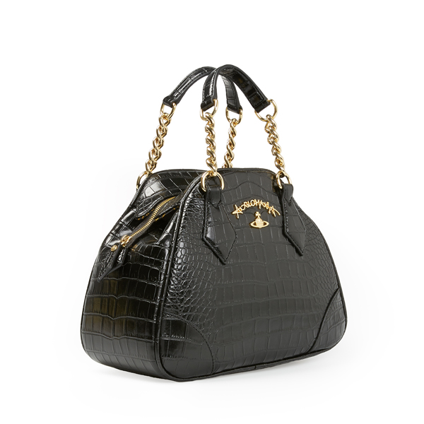 Women Vivienne Westwood BLACK DORSET BAG 7268 Outlet Online