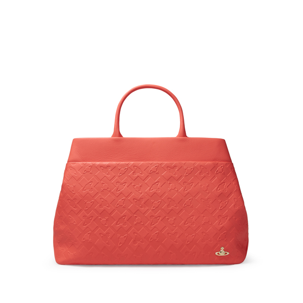 Women Vivienne Westwood HARROW TOTE BAG 131122 RED Outlet Online