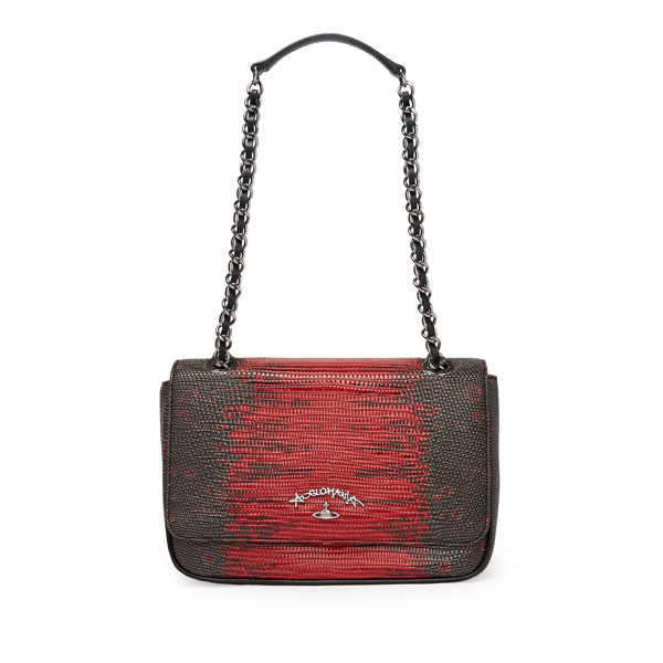 Women Vivienne Westwood LEEDS BAG 7327 RED Outlet Online