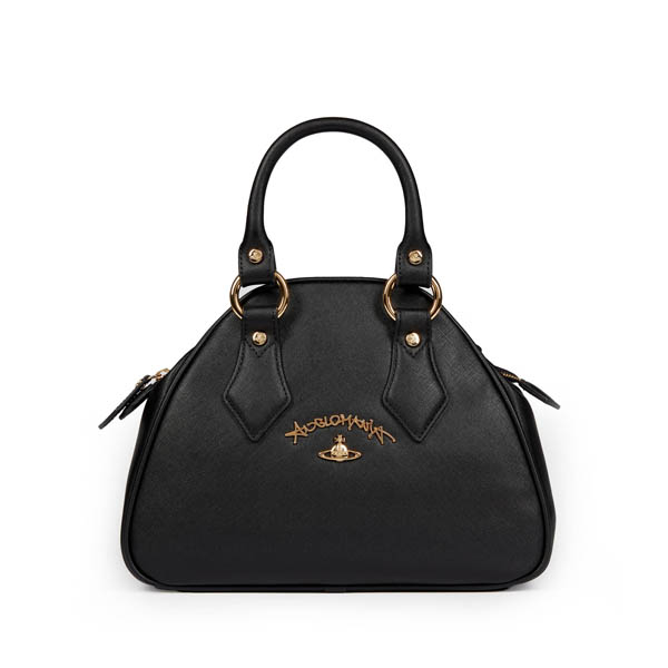Women Vivienne Westwood DIVINA BAG BLACK 7063 Outlet Online