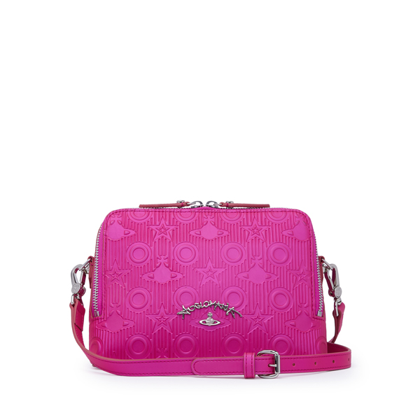 Women Vivienne Westwood SMALL CHILHAM CROSS BODY BAG 190010 PINK Outlet Online