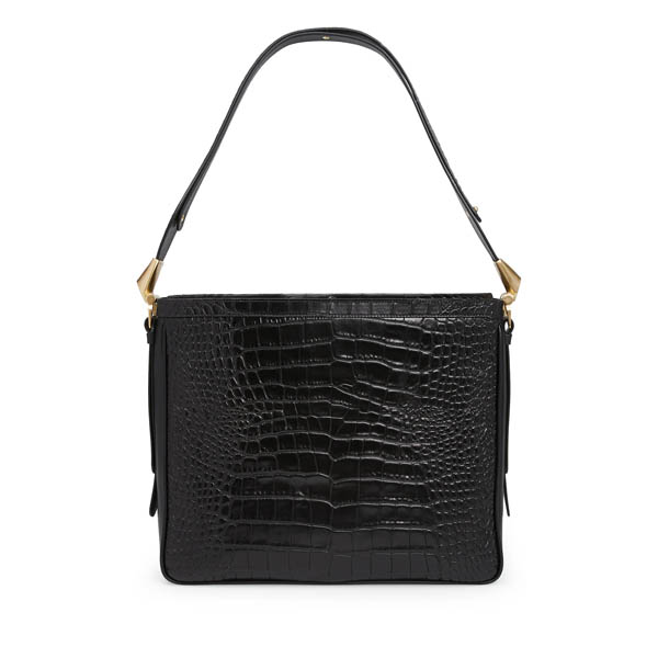 Women Vivienne Westwood LARGE ROYAL OAK BAG 131154 BLACK Outlet Online