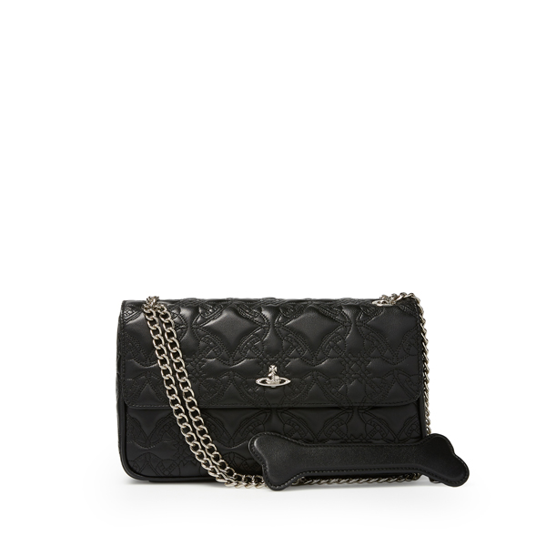 Women Vivienne Westwood MEDIUM COVENTRY BAG 131133 BLACK Outlet Online