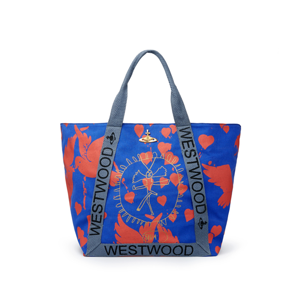 Women Vivienne Westwood SIVA YOGA SHOPPER Outlet Online