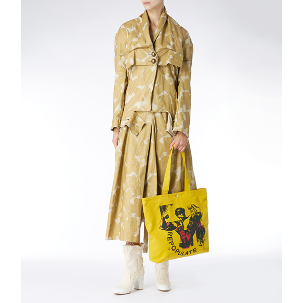 Women Vivienne Westwood REPOPULATE VENICE POLITICAL SHOPPER Outlet Online