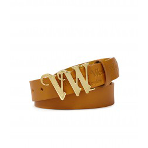 Women Vivienne Westwood VW BELT 7056 MUSTARD Outlet Online