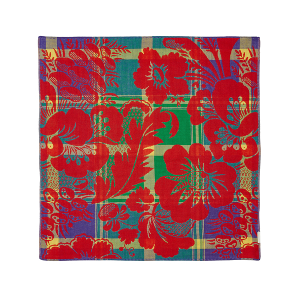 Women Vivienne Westwood FLOWERS HANDKERCHIEF RED Outlet Online