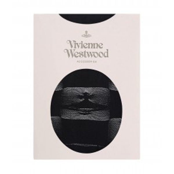 Women Vivienne Westwood BLACK DESTROY TIGHTS Outlet Online