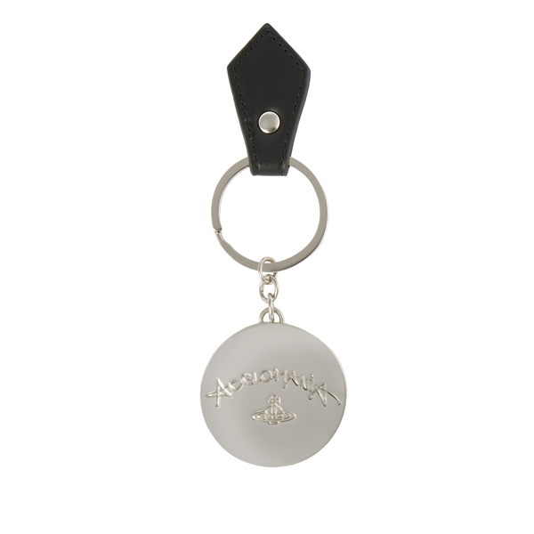 Women Vivienne Westwood I AM EXPENSIVE KEY RING 390041 BLACK Outlet Online