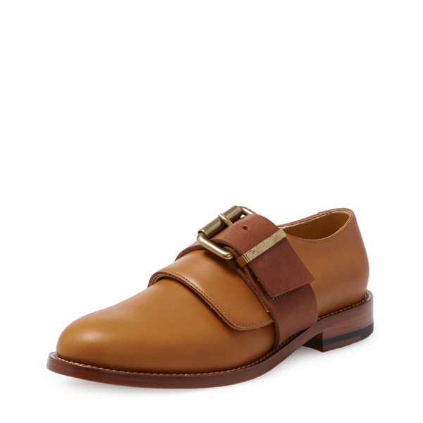 Women Vivienne Westwood BELTED UTILITY SHOES TAN Outlet Online
