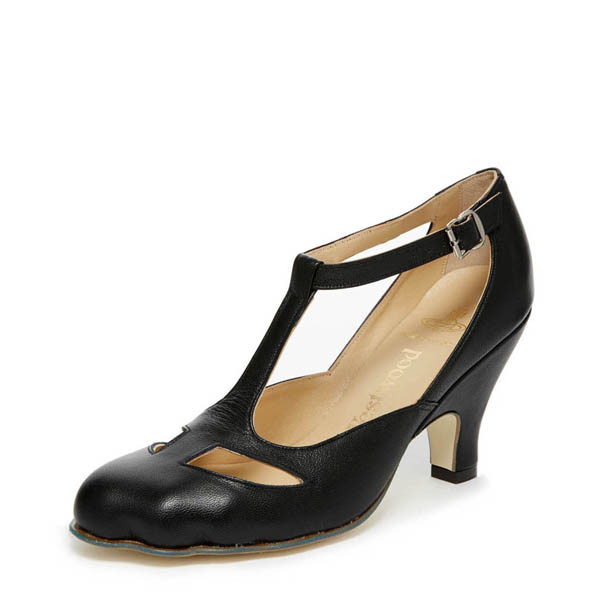 Women Vivienne Westwood T-BAR SHOE BLACK Outlet Online