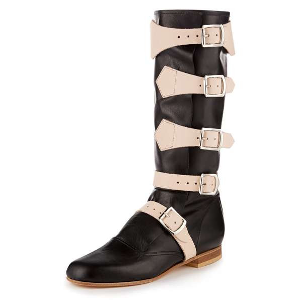 Women Vivienne Westwood PIRATE BOOT BLACK Outlet Online
