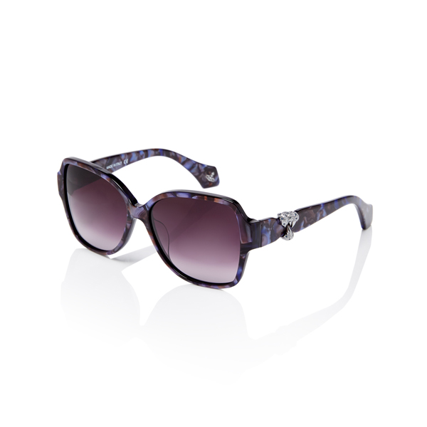 Women Vivienne Westwood BLUE STRASS GILDA SUNGLASSES VW909S03 Outlet Online