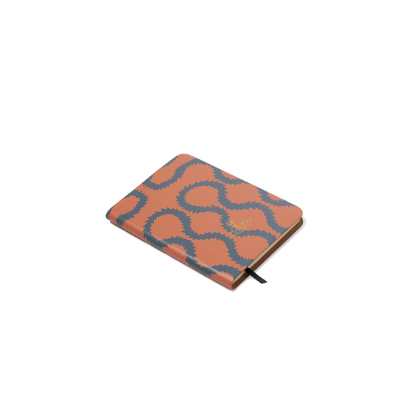 Women Vivienne Westwood A6 CORAL SQUIGGLE NOTEBOOK Outlet Online