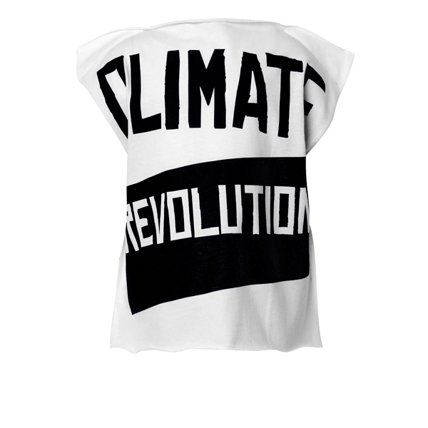 Women Vivienne Westwood TODDLER SQUARE CLIMATE REVOLUTION T-SHIRT Outlet Online