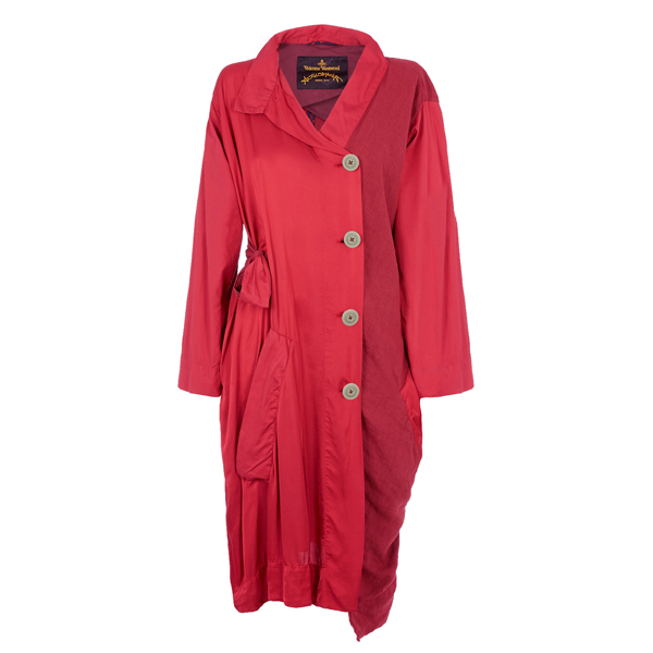 Women Vivienne Westwood RED FRISK COAT Outlet Online