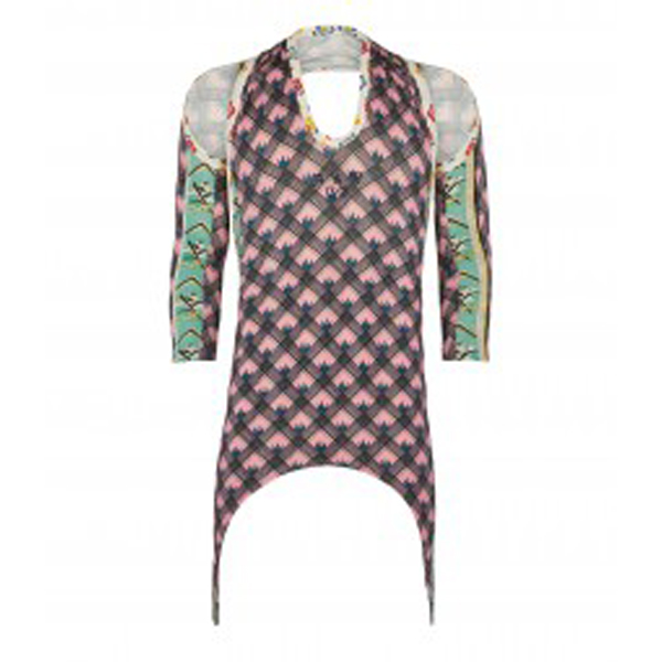Women Vivienne Westwood RUDY DRESS PINK/BLUE Outlet Online