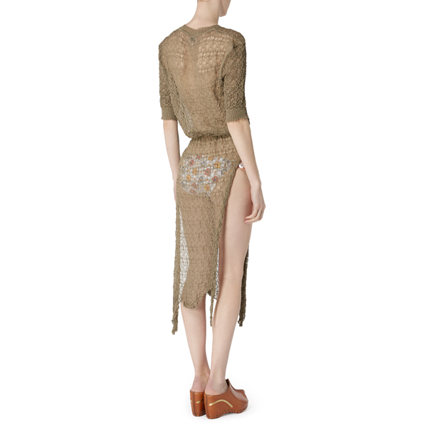 Women Vivienne Westwood TIZER DRESS TAUPE Outlet Online