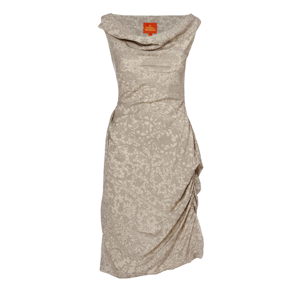 Women Vivienne Westwood AMBER PICNIC DRESS STONE Outlet Online